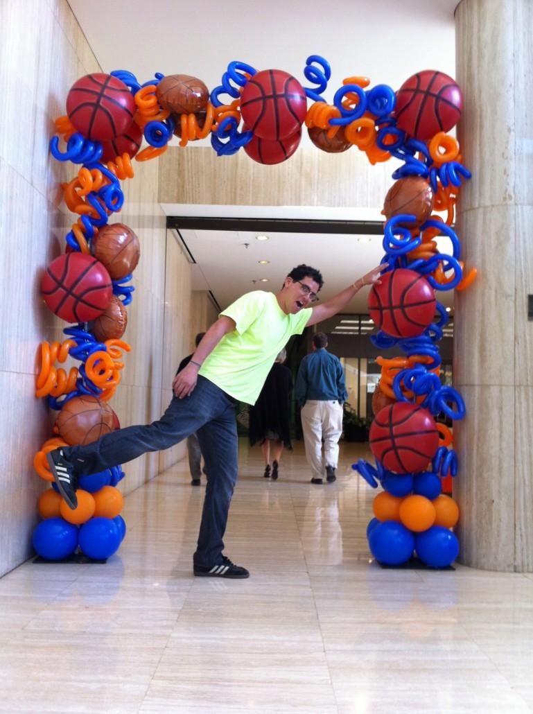 Balloon Arches Dallas Custom Balloon Arch