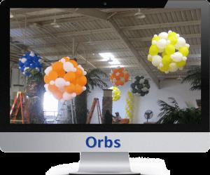 balloon orbs