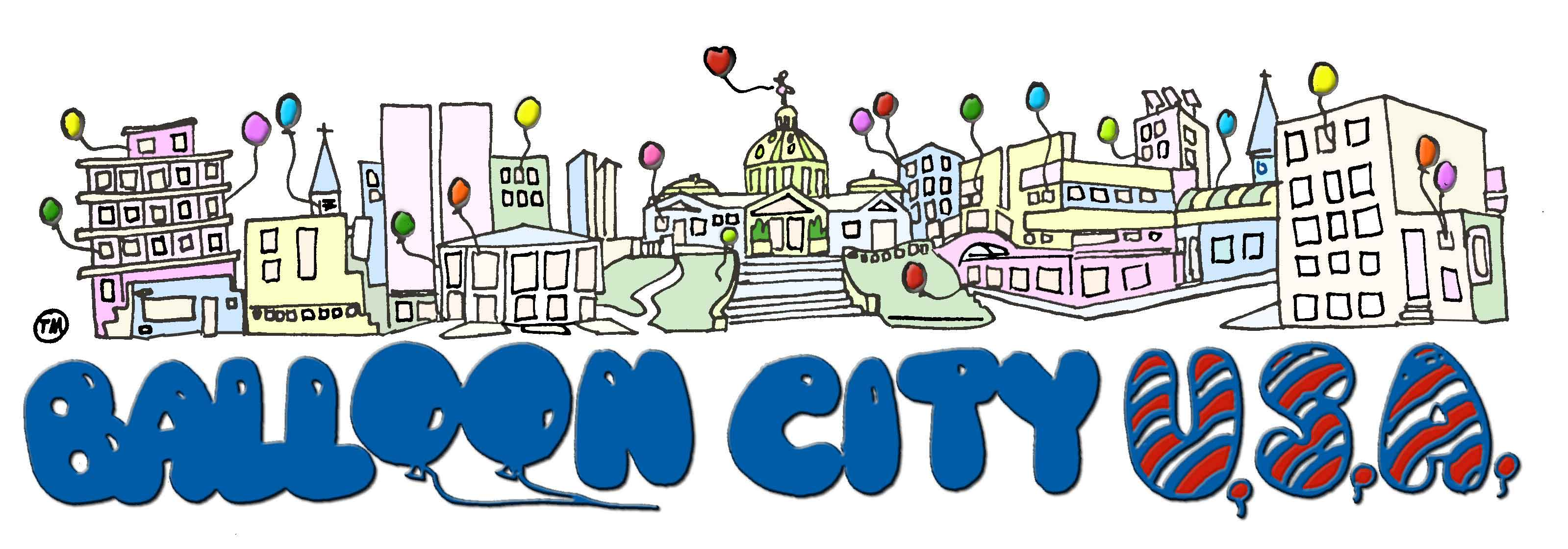 Balloon City logo