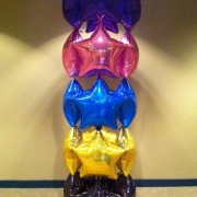 Balloon column - foil