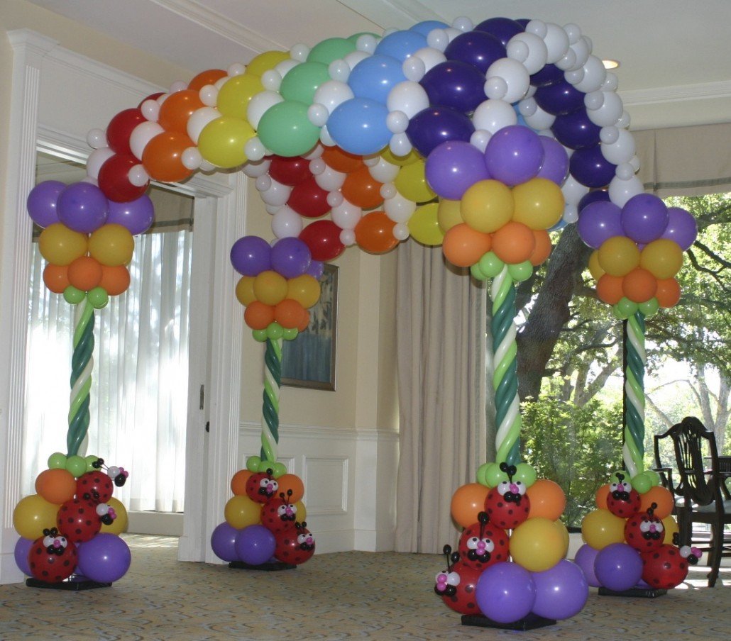 Balloon Arch Sizes Balloon Arch clown