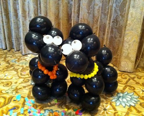 dog balloon sculptures