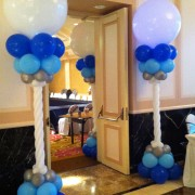 Balloon column - lighted