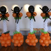 Balloon column - spider