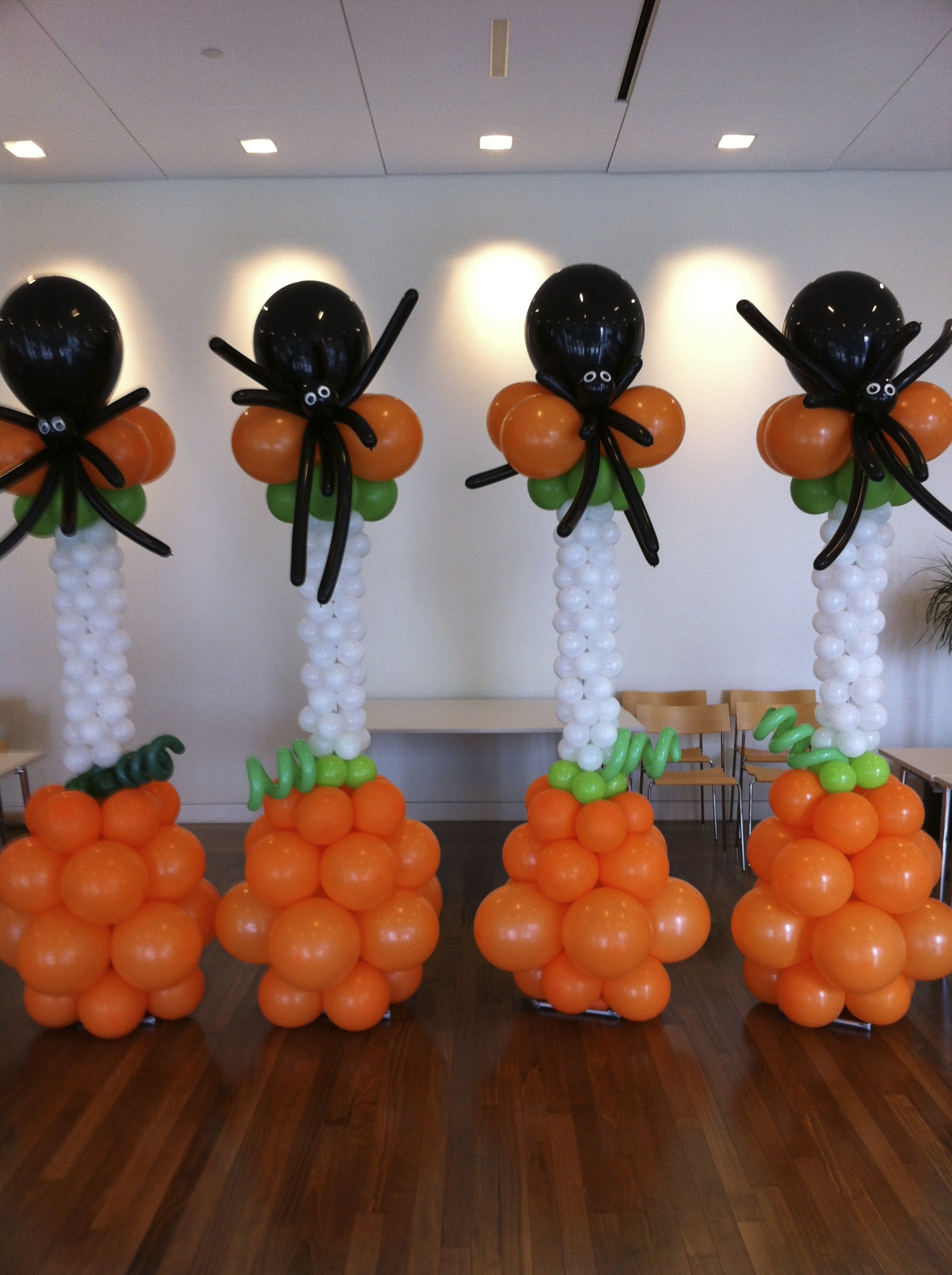 Balloon column - spider Potions and Spells