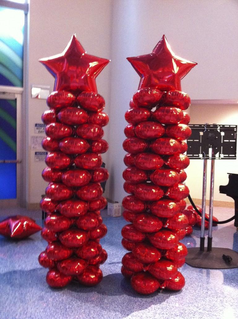 Balloon Columns - Balloon City