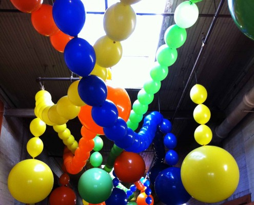 3' balloon chains