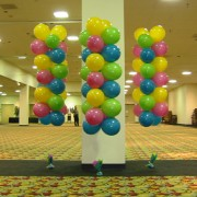 balloon column - floating