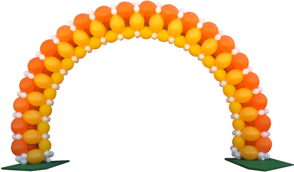Balloon arches dallas custom balloon arch for Arch balloon decoration