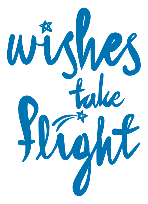 Wishes take flight
