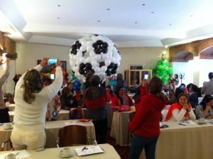 Balloon Soccer ball